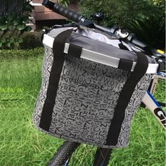 Aluminum Mountain Bike Basket Bicycle Pet Carrier Front Bicycle Package