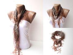 #scarf #womenscarf #cheetah #obsessed #brown