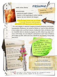 Creatief Curriculum Vitae ontwerp