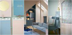 pantone slider Pantone 2016, Sliders, Rose Quartz, Serenity, Loft, Bed, Furniture, Design, Home Decor