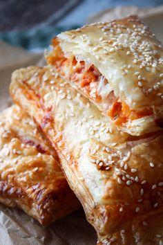 Pizza Lunch Bites With Ham-Pizza Lunch Bites Med Skinke Pizza Lunch Bites With Ham – I used to make my … - Vegetarian Brunch Recipes, Kids Meals, Easy Meals, Diy Snacks, Tacos, Pizza Bites, Best Food Ever, I Love Food, Food Inspiration