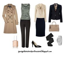 When dressing up, aim for a Young, Polished & Professional look!