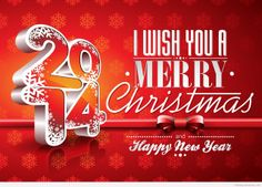 I wish you a Merry Christmas and Happy new Year hd