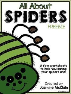 spider printable worksheets and worksheets on pinterest. Black Bedroom Furniture Sets. Home Design Ideas