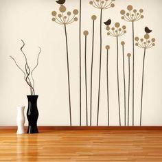 Vinilo Decorativo Naturaleza Floral