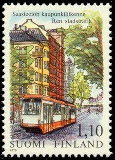 Helsinki Tram 1979