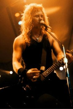 "JAMES HETFIELD of METALLICA - And JUSTICE FOR ALL / BLACK ALBUM ERA, playing his ESP MX250 EXPLORER SIGNATURE GUITAR  ""The World's No:1 Online Heavy Metal T-Shirt Store"". Check it out our Metalhead Clothing and Apparel Store, Satanic Fashion and Black Metal T-Shirt Stores; www.HeavyMetalTshirts.net"