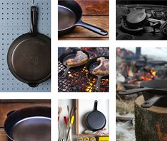 The Field Skillet: Lighter, Smoother Cast Iron by Field Company — Kickstarter
