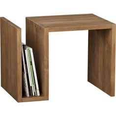Entu Side Table in Coffee Tables & Side Tables | Crate and Barrel
