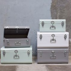 Suitcases by Sostrene Grene