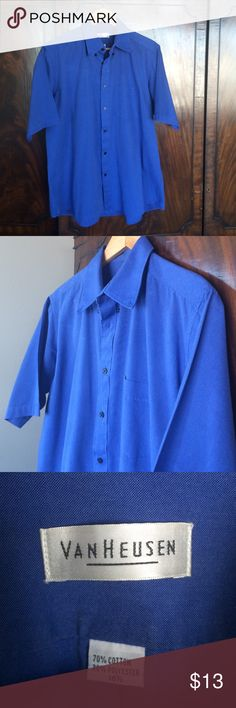 Van Heusen Shirt, Men's L Perfect condition! Great color. Van Heusen Shirts Casual Button Down Shirts