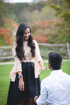Proposal Photography for Ridiculously Happy People Indian Engagement, Fall Engagement, Romantic Proposal, Romantic Photos, Wedding Proposals, Marriage Proposals, Engagement Photography, Wedding Photography, Surprise Engagement