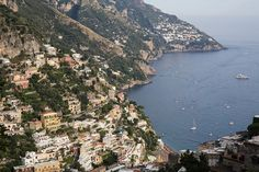 This was the view from out place 20 minutes up the mountain. Positano, Spain, Mountain, Europe, Italy, France, River, Places, Outdoor