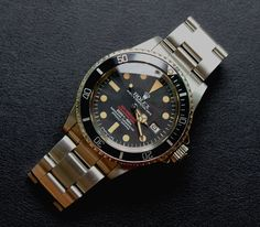 Rolex Double Red Sea-Dweller - 1665 Mark IV, 1977.