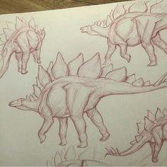 Dinosaurios is elf nail polish safe - Nail Polish Animal Sketches, Animal Drawings, Cool Drawings, Drawing Sketches, Dinosaur Drawing, Dinosaur Art, Dinosaur Sketch, Creature Drawings, Prehistoric Creatures