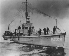 A World War I SC-1 class subchaser