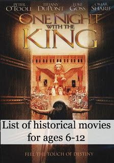 Historical Movies For Children (ages 6-12 with reviews) | Le Chaim (on the right)