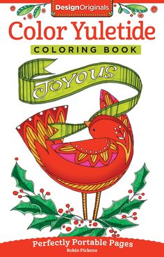 Color Yuletide Coloring Book Perfectly Portable Pages