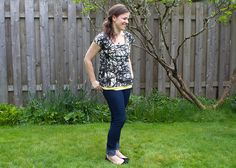 pattern, free : scoop top free pattern and tutorial