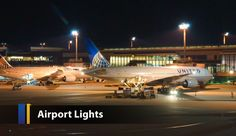 ✈ ✈ Airport Lights ✈✈ Why LED will bring advantages for air terminal installations? http://www.ledsuniverse.com/en/airport-lights/