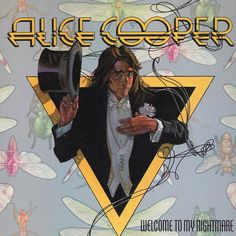 #WelcomeToMyNightmare  Song Book Cover #alicecooper #alicecooperband #facebookalicecoopercuttings