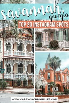 Are you looking for the most Instagrammable places in Savannah? This guide has you covered with the most iconic Savannah picture spots, hidden city gems, and the prettiest streets for your Savannah photoshoot. From the best places in the Savannah Historic District to the most Instagrammable Savannah restaurants, you'll get inspired with these creative Savannah picture ideas. Come discover the most Instagrammable spots in Savannah! #savannahgeorgia #savannahvacation #savannahphotography Usa Travel Guide, Asia Travel, Travel Usa, Travel Tips, Savannah Restaurants, South America Travel, North America, Savannah Chat, Savannah Georgia