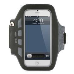 Belkin EaseFit Plus Armband For New Apple iPhone 5 - Retail Packaging - Black
