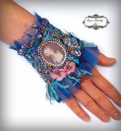 Pulsera de la joyería pulsera chic shabby por ShabbyRomanticArt