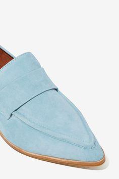 Jeffrey Campbell Belanger Suede Loafer - Flats | Jeffrey Campbell