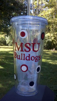 MSU Tumbler...I love my Chi O one so much I may need to order a State one too!