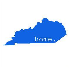Kentucky Car Decal State Pride State Love by CustomVinylbyBridge, $7.00