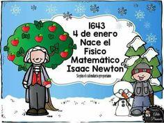tu tarea: 4 DE ENERO Christmas Worksheets, Isaac Newton, Felt Christmas Ornaments, Classroom, Teacher, Education, Comics, Children, School