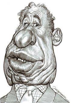 Mel Brooks, illustration of Jan Op DeBeeck https://www.facebook.com/CharacterDesignReferences