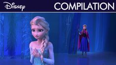 Frozen - For the First Time in Forever (reprise) (French version) Anna Et Elsa, Elsa 2, Anna Frozen, Film Disney, Disney S, Disney Frozen, Disney Princess, French Songs, Miraculous Ladybug Anime
