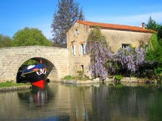 Would rather be cruising on the Canal du Midi right now?