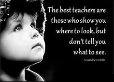 Teach by example!!!! Little eyes are always watching!!!