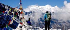 Trekking in Nepal Himalaya...