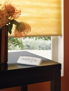 Motorized Cell Shades by Comfortex from Shades Shutters Blinds. Cellular Blinds, Cellular Shades, House Blinds, Blinds For Windows, Window Blinds, Motorized Shades, Motorized Blinds, Electric Blinds, Honeycomb Shades