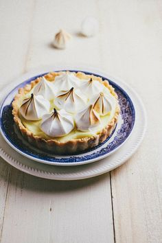 Lime Meringue Tartlets