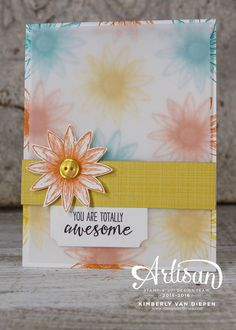 Grateful Bunch- Wednesday WOW! Quick and Simple VS Embellished, Stampin' Up! - StampinByTheSea.com