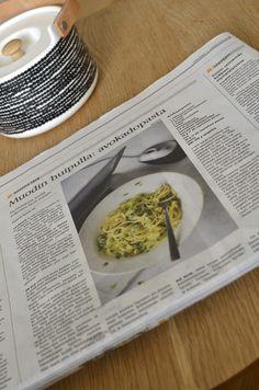 Chicling: Avokadopasta – the original recipe. Food N, Good Food, Food And Drink, Pasta Pie, Finnish Recipes, Avocado Pasta, Kitchen Confidential, Food Test, Chimichurri