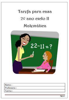 Aprender pela experiência: Apostila de lição de casa - Matemática