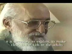 Paulo Freire - An Incredible Conversation, or his last recorded interview.    -->Among my favorite leadership authors.