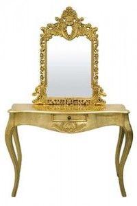 Toaletka Złota-Gold