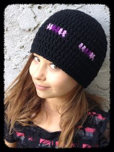 Minecraft inspired Beanies all sizes available by TheHookUp3400, $20.00