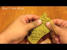 How to Knit the Bee Stitch (aka Honeycomb Brioche)