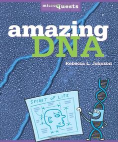 Amazing DNA (Microquests) by Rebecca L. Johnson http://www.amazon.com/dp/0822571390/ref=cm_sw_r_pi_dp_binxub0SK4E2M