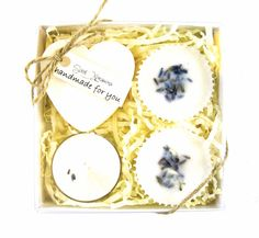 Lavender 4 Piece Mini Spa Kit. Gift for her. by ScentXpressions
