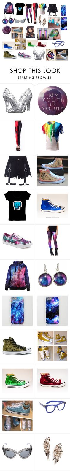 """My Items"" by grace-cupp-456 ❤ liked on Polyvore featuring Dolce&Gabbana, Converse, Vans, RetroSuperFuture and BaubleBar"