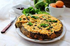 Savory Cauliflower Cake by Michelle Hunt